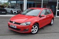 USED 2014 64 VOLKSWAGEN GOLF 1.6 MATCH TDI BLUEMOTION TECHNOLOGY 5d 103 BHP Zero rated road tax