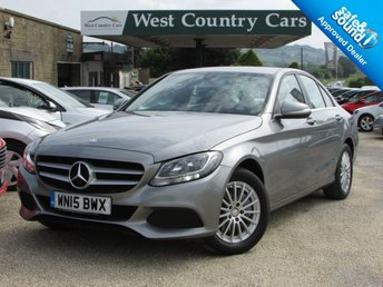 2015 MERCEDES-BENZ C CLASS 2.1 C250 BLUETEC SE 4d AUTO 204 BHP £SOLD