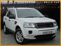 2013 LAND ROVER FREELANDER 2.2 TD4 BLACK AND WHITE 5d AUTO 150 BHP £12995.00