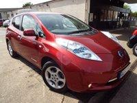2013 NISSAN LEAF 0.0 EV AUTO 5d AUTO 107 BHP £7995.00