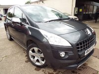 USED 2010 60 PEUGEOT 3008 2.0 HDI EXCLUSIVE 5d AUTO 163 BHP