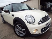 2012 MINI HATCH COOPER 1.6 COOPER 3d 122 BHP £4495.00