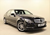USED 2013 63 MERCEDES-BENZ C CLASS 2.1 C220 CDI BLUEEFFICIENCY AMG SPORT 4d AUTO 168 BHP + 1 PREV OWNER  + AIR CON + AUX + BLUETOOTH + SERVICE HISTORY