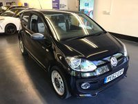 2012 VOLKSWAGEN UP 1.0 UP BLACK 3d 74 BHP £5992.00