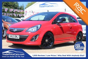 2013 VAUXHALL CORSA 1.2 LIMITED EDITION 3d 83 BHP £6000.00