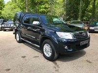 2015 TOYOTA HI-LUX 3.0 INVINCIBLE 4X4 D-4D AUTO NO VAT £18995.00