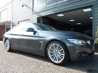 2015 BMW 4 SERIES 2.0 420I LUXURY GRAN COUPE 4d AUTO 181 BHP £SOLD