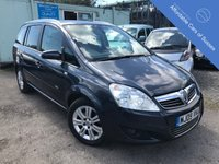 USED 2009 09 VAUXHALL ZAFIRA 1.6 DESIGN 16V 5d 105 BHP Previously Repaired Category D Vehicle - Great Spec