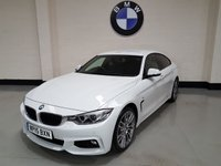 2015 BMW 4 SERIES 2.0 420D M SPORT GRAN COUPE 4d AUTO 188 BHP £SOLD