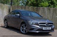2015 MERCEDES-BENZ CLA 1.6 CLA180 SPORT 4d 122 BHP £15750.00