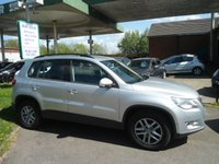 USED 2009 09 VOLKSWAGEN TIGUAN 1.4 S TSI 5d 150 BHP FULL BLACK LEATHER