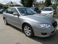 2010 SUBARU LEGACY 2.5 SEN 4d AUTO 173 BHP £8500.00