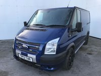 USED 2013 13 FORD TRANSIT 2.2 260 SPORT LR 1d 138 BHP GOOD LOOKING VAN, FULL FACTORY BODYKIT COLOUR CODED, REAR SEAT CONVERSION, NO VAT TO BE ADDED, BLACK ALLOYS, REMOTE CENTRAL LOCKING, TOWING PACK, HEATED FRONT SCREEN.