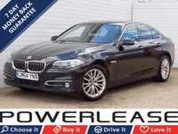 USED 2014 64 BMW 5 SERIES 2.0 518D LUXURY 4d AUTO 148 BHP 30 POUND TAX PRO NAV FBMWSH