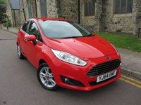 2014 FORD FIESTA 1.0 ZETEC 5d AUTO 100 BHP £7995.00