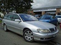 2003 VAUXHALL OMEGA 2.6 CDX V6 5d AUTO 179 BHP £995.00