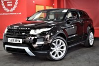 USED 2015 15 LAND ROVER RANGE ROVER EVOQUE 2.2 SD4 DYNAMIC 3d 190 BHP