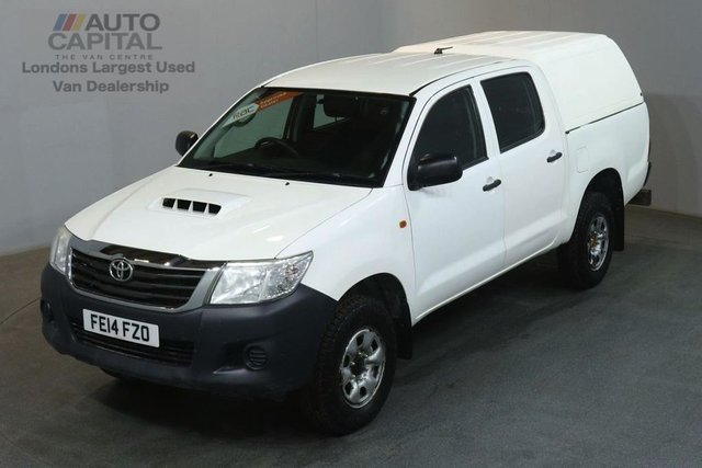 2014 14 TOYOTA HI-LUX 2.5 ACTIVE 4X4 D-4D DCB 142 BHP AIR CON PICK UP £9,750 PLUS VAT AIR CONDITION