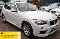 USED 2012 62 BMW X1 2.0 SDRIVE20D M SPORT 5d AUTO 174 BHP BMW SERVICE STAMPS X5 *LAST SERVICED AT 73,134 MILES