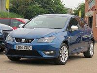 2014 SEAT IBIZA 1.2 TSI FR DSG 3d AUTO 104 BHP £7990.00