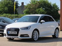 USED 2015 15 AUDI A1 1.6 TDI S LINE 3d 114 BHP 17 INCH ALLOYS, FULL SERVICE HISTORY + HALF LEATHER