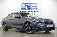 2017 BMW 4 SERIES 2.0 420D DIESEL M SPORT 2 DOOR AUTO 188 BHP £23990.00