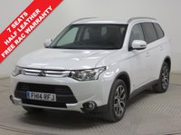 USED 2014 14 MITSUBISHI OUTLANDER 2.3 DI-D GX 3 5d 147 BHP 7 SEATS ***Full Service History, Half Leather, Parking Sensors, Cruise Control, Tow Bar, Air Conditioning, Bluetooth, 7 Seats, 2 Keys. Free RAC Warranty and Free RAC Breakdown Cover***