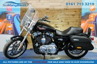 USED 2014 14 HARLEY-DAVIDSON SPORTSTER XL 1200 T SUPERLOW SPORTSTER 14 - Low miles