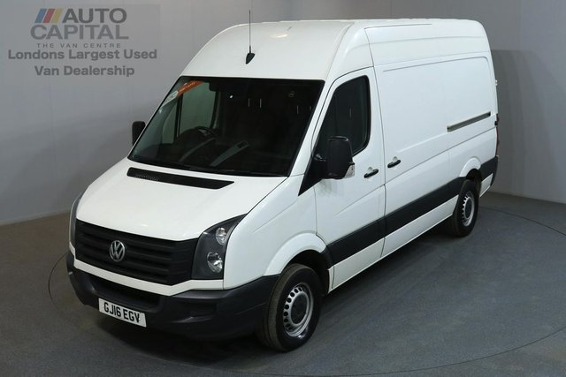 2016 16 VOLKSWAGEN CRAFTER 2.0 CR35 107 BHP MWB HIGH ROOF