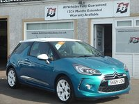 USED 2015 65 DS DS 3 1.6 BLUEHDI DSPORT S/S 3d 118 BHP 2 Service stamps, Bluetooth,Full leather, Parking sensors
