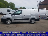 2011 PEUGEOT PARTNER 750SE LWB L2 WITH SEATS & FULL SERVICE HISTORY £6295.00