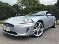 USED 2010 59 JAGUAR XK 5.0 XK PORTFOLIO 2d AUTO 385 BHP PERFECT CONDITION WITH ONLY 38000 MILES BACKED UP BY FSH TOP SPEC PORTFOLIO