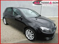 2010 VOLKSWAGEN GOLF 2.0 GT TDI 5dr 140 BHP LOCAL OWNER VEHICLE £5495.00