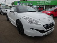 USED 2013 63 PEUGEOT RCZ 2.0 HDI GT FAP 2d 163 BHP **TEST DRIVE TODAY 01543 877320..
