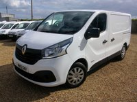 USED 2015 15 RENAULT TRAFIC 1.6 SL29 BUSINESS PLUS DCI L/R P/V 1d 115 BHP 2015 AIR CONDITIONING SAT/NAV ONE OWNER FROM NEW