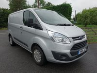 2015 FORD TRANSIT CUSTOM 270 TREND L1 SWB 2.2TDCI 125PS £12995.00