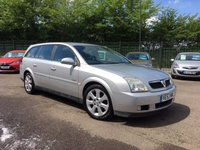 2003 VAUXHALL VECTRA 2.2 ELITE 16V 5d AUTOMATIC PART EXCHANGE TO CLEAR MOT TILL JAN 19  £1000.00