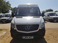 USED 2014 14 MERCEDES-BENZ SPRINTER 2.1 313 CDI MWB 1d 129 BHP CLIFFORD ALARM
