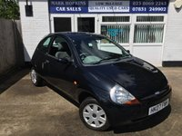 USED 2007 07 FORD KA 1.3 STYLE CLOTH 3d 69 BHP 21727 MILES  ONE LOCAL LADY OWNER  EXCELLENT CONDITION