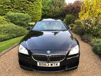 USED 2013 63 BMW 6 SERIES 3.0 640D M SPORT GRAN COUPE 4d AUTO 309 BHP