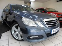 USED 2010 10 MERCEDES-BENZ E CLASS 3.0 E350 CDI BLUEEFFICIENCY AVANTGARDE 5d AUTO 231 BHP
