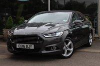 2016 FORD MONDEO 2.0 TITANIUM HEV 4d AUTO 187 BHP £16995.00
