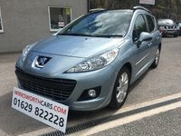 USED 2011 61 PEUGEOT 207 1.6 HDI SW ALLURE 5d 112 BHP **F.S.H**1 OWNER**SAT NAV**£30 PER/YEAR TAX**