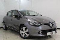 USED 2015 15 RENAULT CLIO 1.1 DYNAMIQUE MEDIANAV 5DR 75 BHP FULL SERVICE HISTORY + SAT NAVIGATION + BLUETOOTH + CRUISE CONTROL + AIR CONDITIONING + RADIO/CD + 16 INCH ALLOY WHEELS