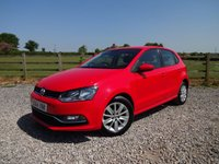 USED 2014 64 VOLKSWAGEN POLO 1.2 SE TSI 5d 89 BHP ONLY 2 OWNERS FROM NEW + FULL SERVICE HISTORY