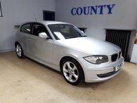 2009 BMW 1 SERIES 2.0 116I SPORT 3d 121 BHP £4995.00