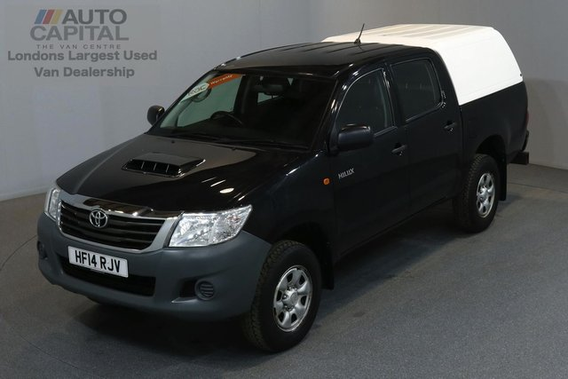 2014 14 TOYOTA HI-LUX 2.5 ACTIVE 4X4 D-4D 142 BHP MWB A/C ONE OWNER FROM NEW, FULL SERVICE HISTORY