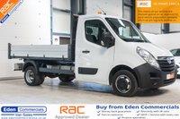 2015 VAUXHALL MOVANO 2.3 R3500 L2H1 CDTI TIPPER DRW 1d 125 BHP £13495.00