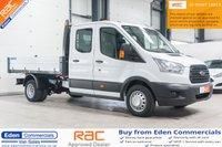 2015 FORD TRANSIT 2.2 350 L3 DCB C/C DRW 1d 124 BHP £14995.00