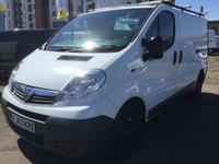 2013 VAUXHALL VIVARO 2.0 2700 CDTI 1 PREVIOUS OWNER NO VAT £7999.00